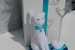 Bomboniera portafoto gattina