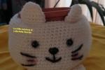 Bomboniera portavasetto a crochet