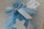 Bomboniera-sacchettino per battesimo con gessetti
