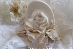 Bomboniere matrimonio sposi cuore nel fiore