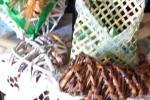 Bomboniera o segnaposto, fatto a mano con cannucce