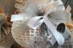 Bomboniere in cotone cablè