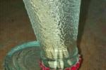 Portastuzzicadente creato da bottiglia campari