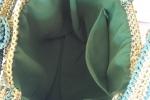 Borse in cordino verde
