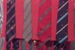 Borsa fatta a mano con cravatta