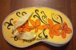 Borsellini in gomma Eva creati e dipinti a mano