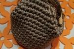 Borsellino clic clac portamonete uncinetto fatto a mano
