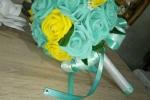 Bouquet per cerimonia in fommy soft e strass