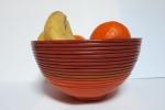 Bowl prodotta a mano e totalmente con plastica riciclata