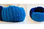 Bracciale blu e azzurro