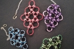 Bracciale chainmaille rombo maglia giapponese