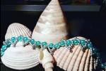 Bracciale con perle acriliche 6mm