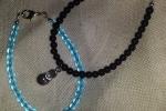 Coppia di bracciali con perle