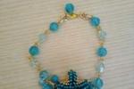 Bracciale con perle e stella marina