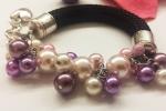 Bracciale corda e perle