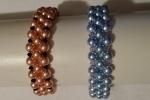 Bracciale di perle Swarovski e biconi