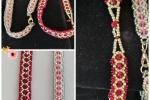 Bracciale Elegance con perline, mezzicristalli e Swarovski