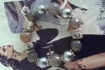 Bracciale grigio con ceramica