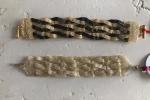 Bracciale Intreccio di perline Bronze&Gold e TotalGold