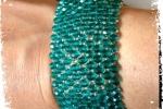 Bracciale personalizzabile con perline e cristalli