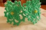 Bracciale verde acqua