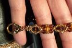 Braccialetto Fatto a Mani di Perline