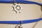 Bracciali uomo marinari blu, beige, nero e marrone