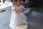 Cake topper in porcellana fredda non edibile per prima Comunione