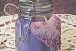Candela di soia ecologica vegana profumata alla lavanda