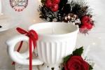 """Candela  """"Majte"""" Natale 2020 - candela profumata in cera di soia"""