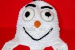 Cappellino Frozen fatto a mano, tutte le misure