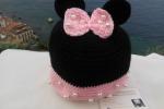 Cappellino in lana Minnie