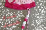 Cappellino+portaciuccio in cotone