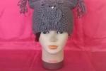 Cappello donna grigio Gufo
