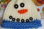 Cappello pupazzo di neve