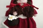 Cappuccetto Rosso amigurumi