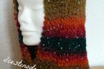 Cappuccio lavorato a maglia