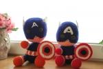 Captain America amigurumi