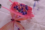 Carriola con fiori in fommy