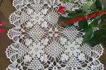 Centrino/tovaglietta forma quadrata misura 32 cm