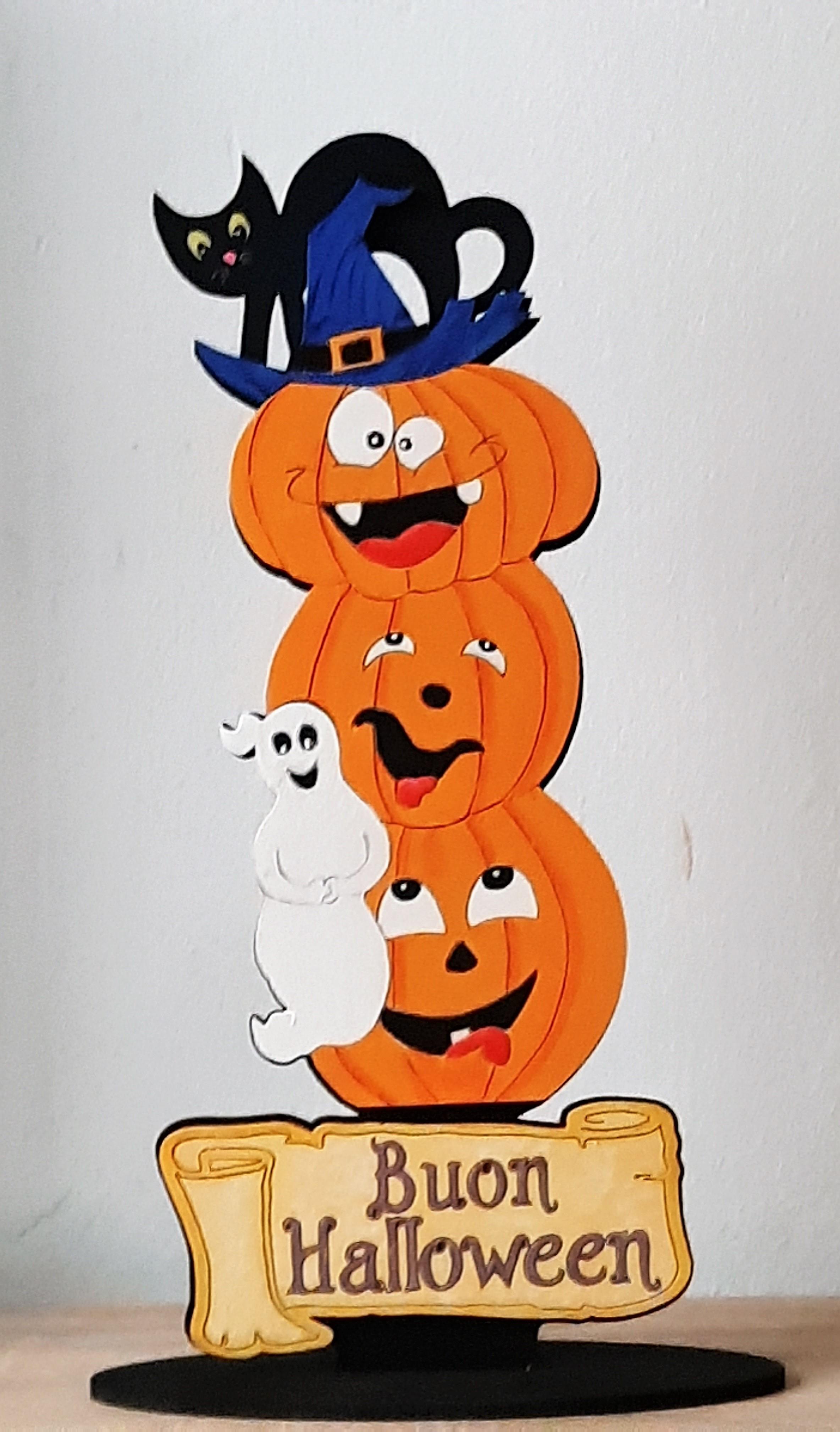 Addobbi Tavola Per Halloween creazioni - altro - centro tavola addobbo halloween