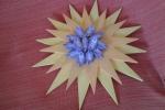 Centrotavola stella con caramelle artigianali