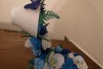 Centrotavola cascata di fiori