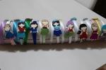 Cerchietto bimba con personaggi cartoni animati