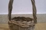 Cesto cestino in vimini, olivastro 8cm x 8,50 cm