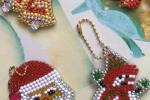 Ciondoli portachiavi decorazioni natalizie