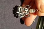 Ciondolo Angioletto di Perline e Cristalli