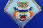 Clown ~ 3D Peyote pod ~ Decorazione da appendere - file PDF