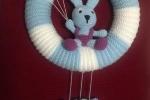 Coccarda nascita coniglio