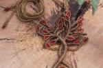 Collana Albero della Vita con diaspro rosso